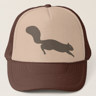 Grey Squirrel Trucker Hat