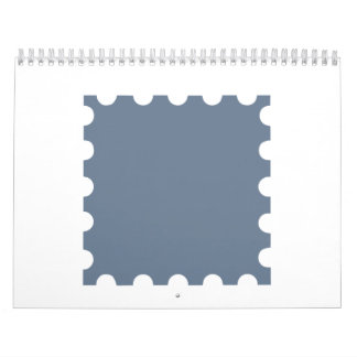 Grey stamp calendar