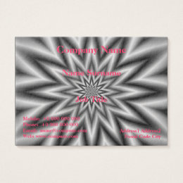 Black and white stars design business cards templates zazzle grey star chubby business card reheart Choice Image