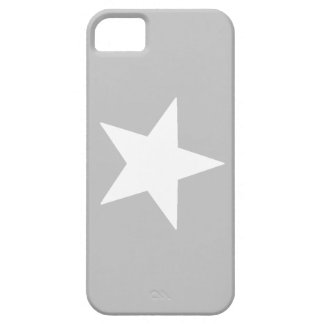 grey star iPhone SE/5/5s case