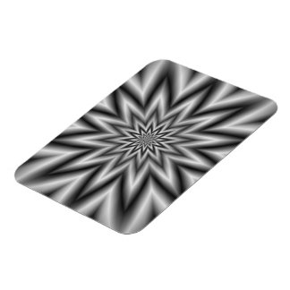 Grey Star Photo Magnet