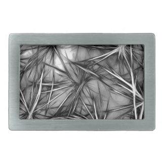 grey stars rectangular belt buckles