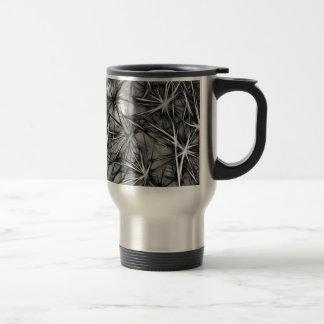 grey stars travel mug