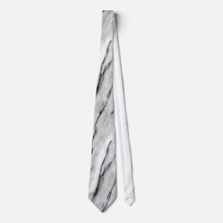 Grey Striped Marble Tie