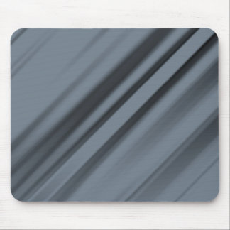 Grey Strips Mouse Pad