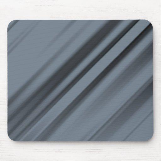 Grey Strips Mousepads