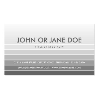 grey swatch Double-Sided standard business cards (Pack of 100)