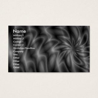 Grey Swirl Business Card
