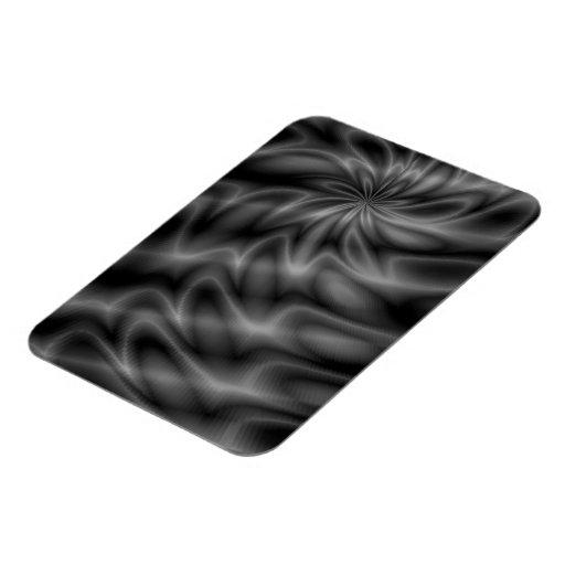 Grey Swirl Flexible Magnets
