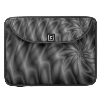 Grey Swirl Sleeve For MacBook Pro