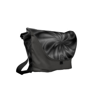 Grey Swirl Small Messenger Bag