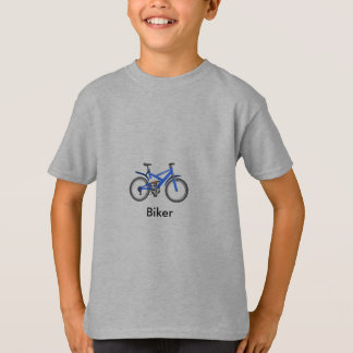 Grey T-shirt for boys - Biker