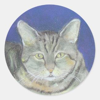 Grey Tabby Sticker
