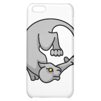 Grey Tailchaser iPhone 5C Cover