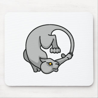 Grey Tailchaser Mousepads