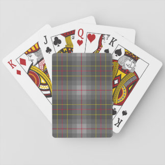 Grey Tartan Playing Cards