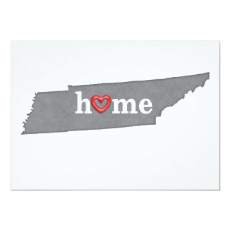 Grey TENNESSEE Home & Open Heart Card
