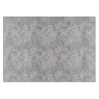 Grey Texture MED Glass Cutting Board