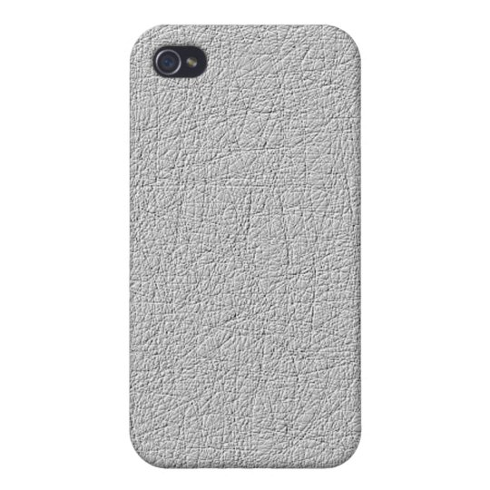 Grey texture modern pern cover for iPhone 4