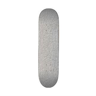 Grey texture pattern skateboard deck