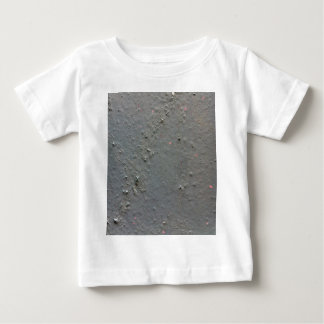Grey textured rugged surface with concete effect baby T-Shirt