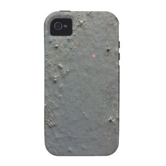 Grey textured rugged surface with concete effect Case-Mate iPhone 4 cover