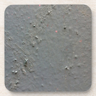 Grey textured rugged surface with concete effect drink coasters