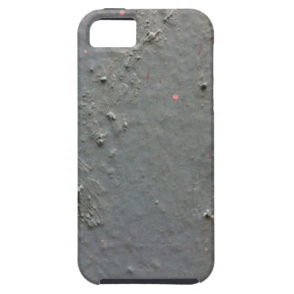 Grey textured rugged surface with concete effect iPhone 5 cases