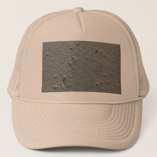 Grey textured rugged surface with concete effect trucker hat