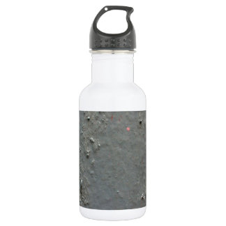 Grey textured rugged surface with concete effect water bottle