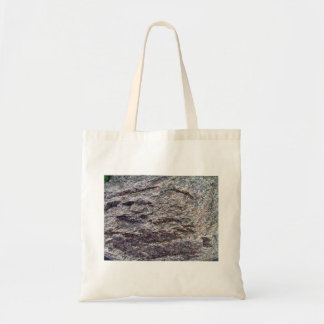 Grey Textured Stone Background Canvas Bag