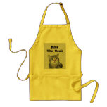 Grey Tiger Kitten with Blue Eyes Aprons