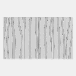 Grey Timber Background Rectangular Sticker