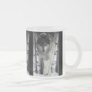 GREY TIMBER WOLF Wildlife Supporter Gift Mugs