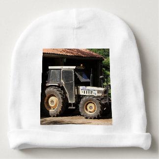 Grey tractor, El Camino, Spain Baby Beanie