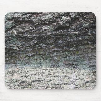 Grey tree bark close up fading mouse pad
