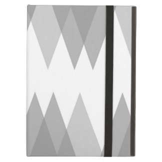 Grey triangles case for iPad air