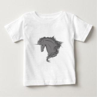 Grey unicorn baby T-Shirt