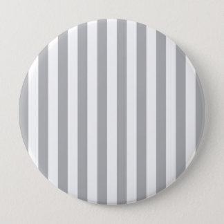 Grey Vertical Stripes Button