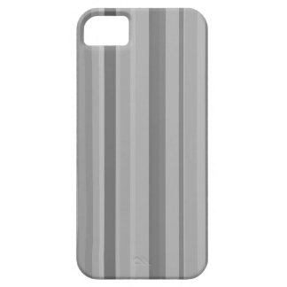 Grey vertical stripes iPhone SE/5/5s case