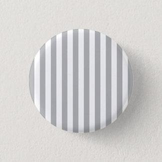 Grey Vertical Stripes Pinback Button