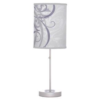 grey vintage rococo chandelier table lamp - Chandelier Table Lamp