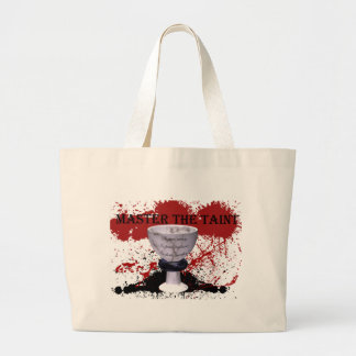 Grey Warden Master the Taint Joining Large Tote Bag