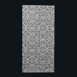 "Grey &amp; White Damask Pattern Cloth Napkins<br><div class=""desc"">Simple and elegant,  add a splash of color to you kitchen,  kitchen table or dining room table with these Grey &amp; White Damask Pattern Cloth Napkins.</div>"