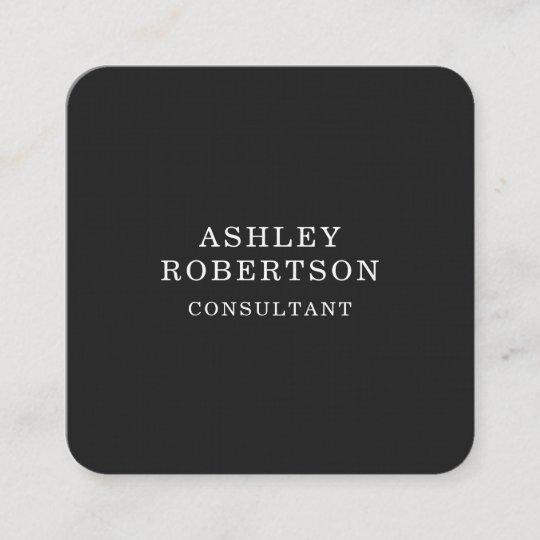 grey white professional stylish trendy minimalist square business