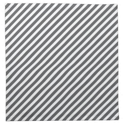 Grey And White Stripe ...