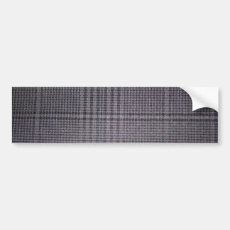 Grey-with-black-textile1011 GREY TEXTILE PATTERN Bumper Stickers