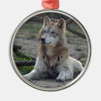 grey-wolf-8 ornamento para arbol de navidad