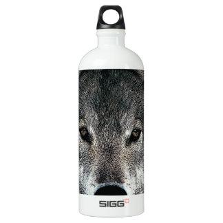 Grey Wolf Aluminum Water Bottle