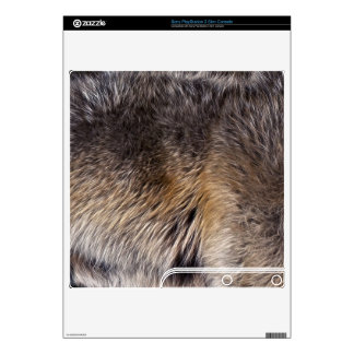 Grey Wolf Animal Fur Playstation 3 Skin PS3 Slim Console Skins